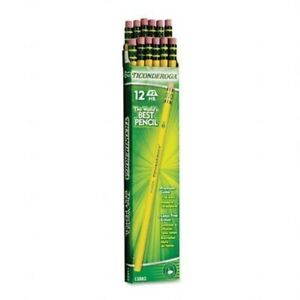Dixon Ticonderoga Dix13882 8pack Wood cased Pencils