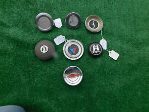 Vintage 1960 S Horn Button Collection 7 Total Chevy Ih Pontiac Studebaker Vw