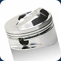 Bbc 632 Je Pistons 4 600 Bore Gas Ported 16 5 1 Dome Big Block Chevy
