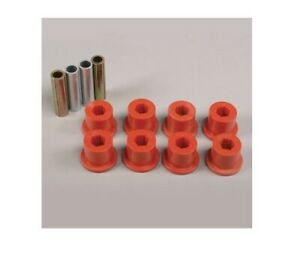 Pro Comp Red Polyurethane Leaf Spring Bushings For Jeep Yj Wrangler 69261