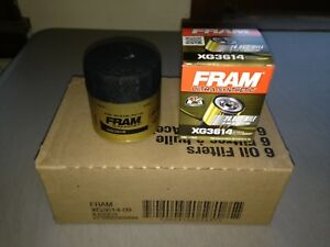 Six 6 Fram Ultra Synthetic Xg3614 Oil Filter Case Fits Mobil 1 M1 102a M1 102