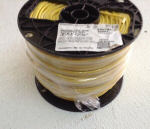 12 Ga Yellow 500ft Spool Thhn Stranded Electrical Wire 24012520