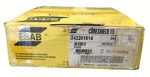 Esab Cs 15 045x33 E71tgs Innershield Wire no Gas Same As Lincoln Nr 152