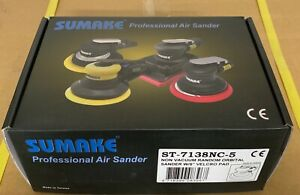 Professional Non Vacuum 5 Hook Pad Random Orbital Air Sander Model St 7138nc