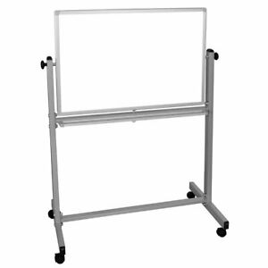 Luxor Mb3624ww 36 X 24 inch Reversible Magnetic Dry Erase Easel Whiteboard