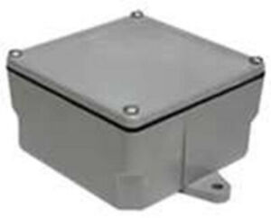 Cantex Junction Box Enclosure Cover Electrical Outdoor 12 X 12 X 6 Inch Gray Pvc
