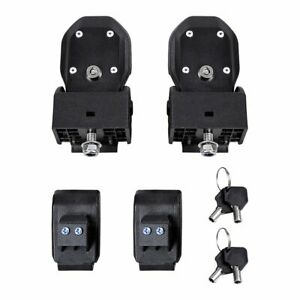 Quick Release Hood Lock Latches Catch For 2018 2019 Jeep Wrangler Jl Unlimited