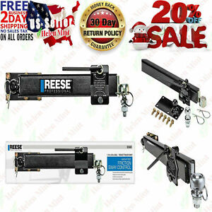 Reese 83660 Friction Sway Bar Control Tow Camping Rear Towing Trailer Rv Camper
