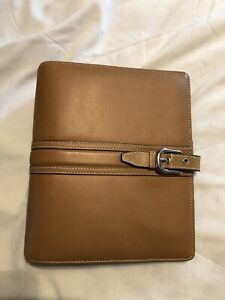 Franklin Covey Classic Tan Collages Binder
