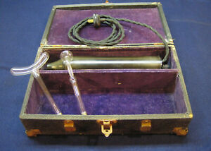 Antique Violet Ray High Frequency Electrotheropy Quack Medical Device Working