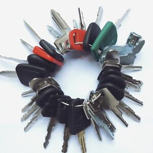40 Keys Heavy Equipment Construction Ignition Key Set Cat Case Deere Volvo