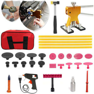 Car Paintless Dent Puller Slide Hammer Repair Glue Gun Removal Tool Hail Kit