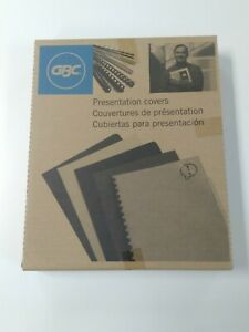Gbc Presentation Covers Clear View Binding Covers 11 X 8 5 10 Mil 19 hole