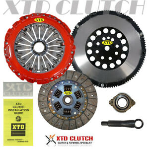 Xtd Stage 2 Clutch Chromoly Flywheel Kit Fits 03 08 Tiburon Gt Se 2 7l