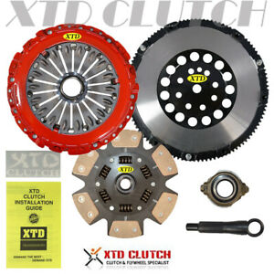 Xtd Pro Stage 3 Miba Clutch Flywheel Kit Fits 2003 2008 Tiburon 2 7l sprung