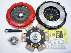 Xtd Stage 4 Clutch Street Lite Flywheel Kit Fits 2003 2008 Tiburon V6 All Trim