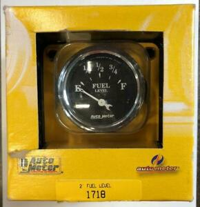 New Auto Meter 2 Fuel Level 1718 Ford Chrysler Gauge