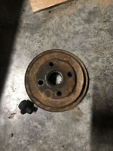 Ford 600 800 Tractor Engine Crankshaft Double Pulley Nut