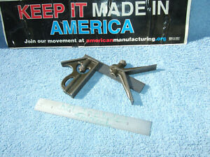 Lufkin Rule Co Combo Square 4 Inch Vintage Antique Usa Machinist Toolmaker Mill