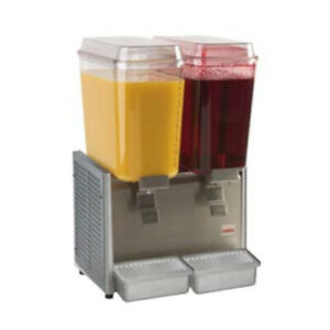 Grindmaster cecilware D25 4 Crathco Bubbler Pre mix Cold Beverage Dispenser
