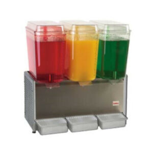 Grindmaster cecilware D35 4 Crathco Bubbler Pre mix Cold Beverage Dispenser