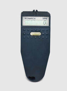 Monarch Digital Tachometer Rpm