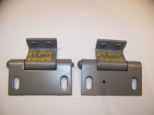 1937 Plymouth Coupe Windshield Hinges Oem Pair