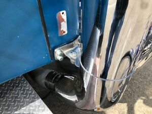 Peterbilt Exhaust Flat Top Style Chrome 7 X127 Set With 60 Elbow Tractobull