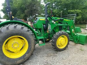 2016 John Deere 5045e 4wd With Jd Loader