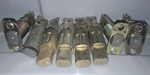 Lot Of 8 Vintage Deadbolt Latches