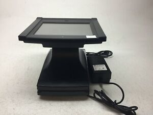 Par Gemini M5050 01 12 Resistive Pos Terminal Point Of Sale With Power Adapter