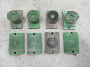 Lot Of 8 Used 4 Ips Serrated Pipe Fusion Machine Heater Plates 207