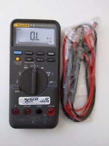 Fluke 87 Iii True Rms Digital Handheld Multimeter 87 3 New Test Leads 87iii