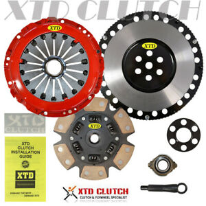 Xtd Stage 3 Clutch Lighten Flywheel Kit Fits 00 08 Tiburon Elantra Spectra
