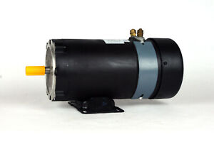 Dc Motor Brush type 48 Frame Zyt48 09 With 12vdc 1hp 1800rpm Tefc Ul 108322