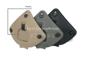 Tactical Plastic NVG Night Vision Shroud Mount For MICH ACH Fast PJ MH Helmet