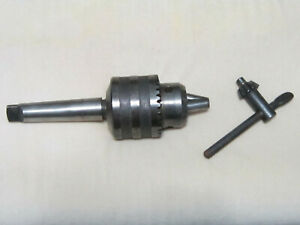 Metal Lathe Tail Stock Drill Chuck