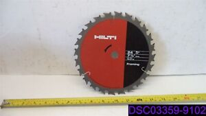 Qty 1 Box Of 10 Hilti 7 1 4 Framing Blade Circular Saw Blade 290205