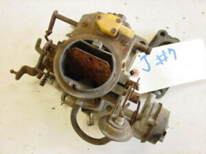 Jeep Cj5 Cj7 Cj8 Carter 2 Barrel Carburetor 4 2 6 Cylinder 258 Pre stepper Amc
