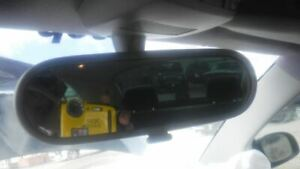 Rear View Mirror With Digital Clock Fits 02 05 Beetle 379222