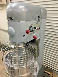 Hobart M 802 1 Phase 80 Qt Commercial Dough Mixer With Bowl Guard
