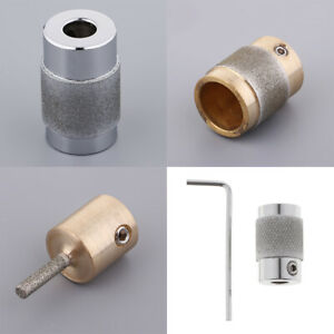 4 Stained Glass Grinder Head Bit Diamond Grinding Bits For All Glass Grinder