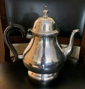 Vintage Tiffany Co Makers 23333 Sterling Silver 3 Pints Tea Pot