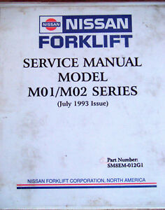 Nissan Forklift Manual | MCS Industrial Solutions and Online ... on
