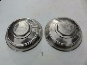 2 Vintage 1940s Lincoln Zephyr Hubcaps 1940 1949 Continental