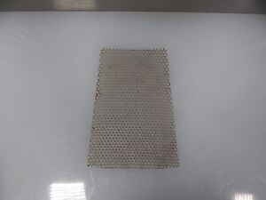 304 Stainless Steel Expanded Perforated Metal 4 75 X 9 X 040 Thick