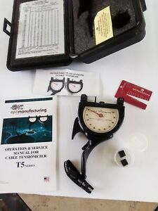 Pacific Scientific T5 Aircraft Cable Tensiometer T5 8005 110 00 300 1600 Lbs