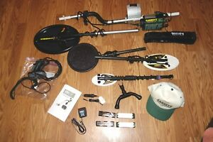 Garrett Infinium Ls Land Water Sea Metal Detector W Extra Coils Headphones