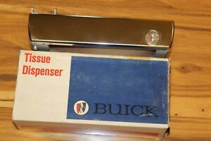 Vintage Buick Auto Serv Tissue Dispenser Kleenex Dispenser Dash Accessory Gm