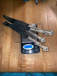 Sterling Knives Scrap Or Not Mixed Lot 4 Pieces 249 3g Grams